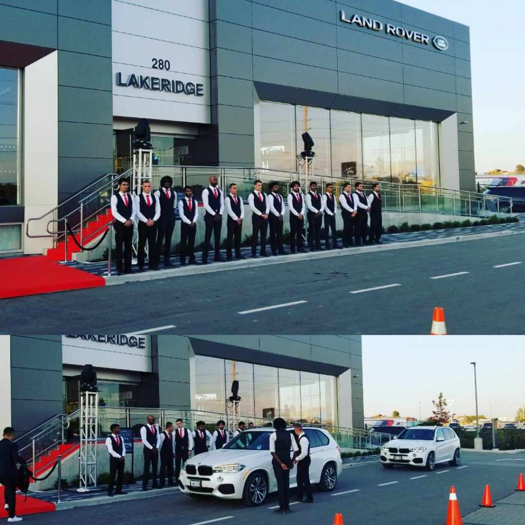 Adagio Valet at Land Rover Grand Opening adagiovalet ajax landroverhellip